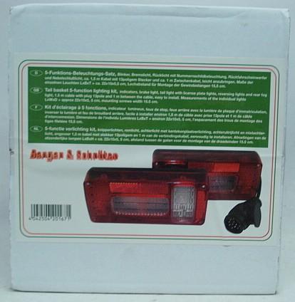 Beleuchtungssatz für - Heckträger