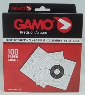 LG - Scheiben 14 x 14 cm - 10-er Ring (a100) Paper Target