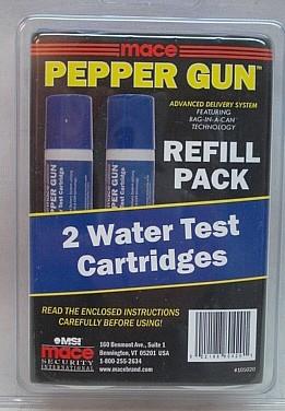 2 Wasserkartuschen Pepper Gun - Tierabwehrgerät