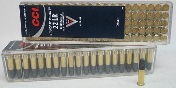 RF .22l.r. Standard - (a100) in Plastikbox