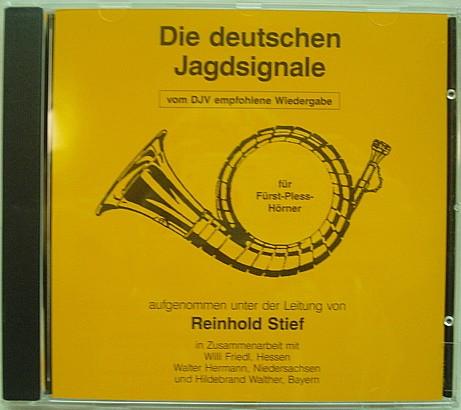 CD Die deutschen Jagdsignale - für Fürst-Pless-Hörner