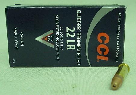 RF .22lr Quiet-22-HP - 40gr (a50) #00970