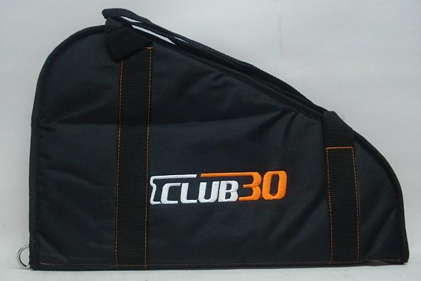 Club 30 Revolvertaschen - schwarz, ab 6Zoll Länge