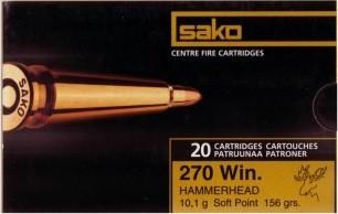 .270Win Hammerhead SP - 10,1g/156grs/a20