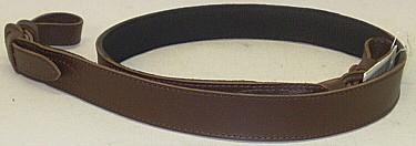 Leder mit Gummiunterlage - 31 mm breit, Oberfläche glatt
