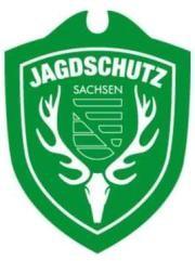 Autoschild Sachsen - Jagdschutz