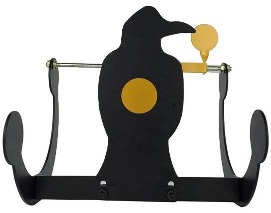 Klappsilhouette Krähe - 24x20,5x23cm