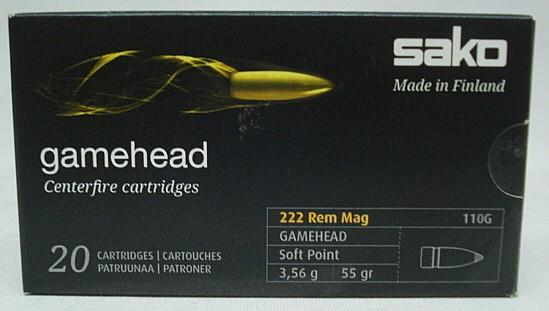 .222RemMag.Gamehead SP - 3,56g/55grs (a20)