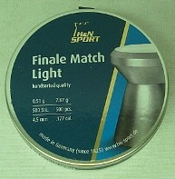 Finale Match Light 4,49 - 0,49g/7,56gr/500/LP