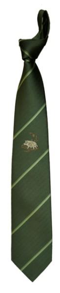Krawatte Motiv Wildsau mit Streifen Motiv Wildsau mit Streifen