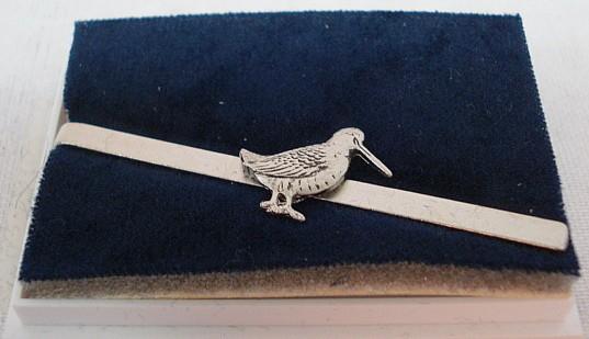Krawattenschieber Schnepfe - silber