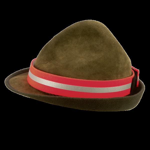 Hutband 70cm/3,6cmbreit - mit Reflektorstreifen