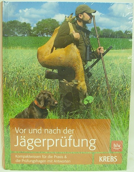 Buch Vor&nach der Jägerprüfung - Krebs, 61.Auflage