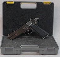 Deko Pistole Browning HP - in Miniaturausführung