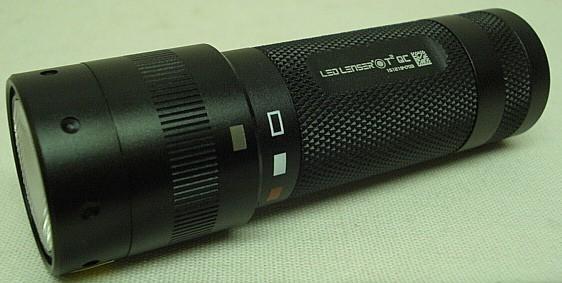 LED Lenser T2QC m. Farbfilter - 140 Lumen