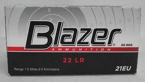 RF .22l.r. Blazer HV SOLID - 2,59g/40gr (a50) #21EU#