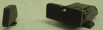 LPA Mikrometer-Visier Glock-SPR36GL07, schwarze Kimme