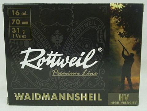 Waidmannsheil HV 16/70 - 3,2mm/31g -Plastik- (a10)