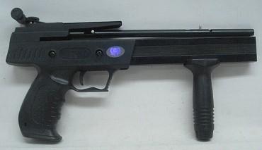 Pistolenarmbrust, groß - inkl. Tragetasche + Pfeile