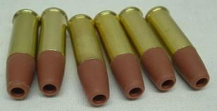 Ladehülsen Colt Python - Stahl-BB's, 6 Hülsen, Metall