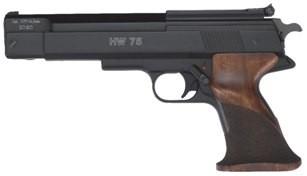 HW 75 Kal.4,50mm - Nussbaum-Matchgriff