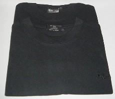 Rundhals Doppelpack - 90%Baumwolle+10%Polyester
