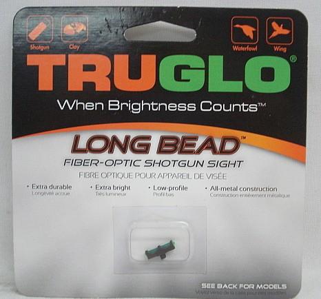 Truglo Long bead 2,0mm grün - Gewinde M 2,6 + Metallkörper
