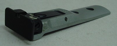 TXT-Visier S&W-Revolver - KL/N, Visierbasis SilverFinish