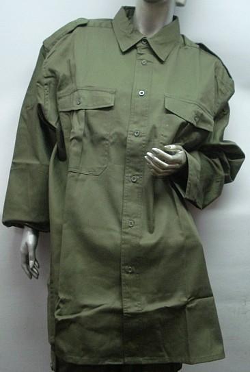 Safari 1/1-Arm - 2 Brusttaschen mit Knopf