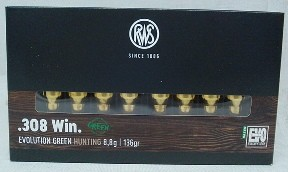 .308Win EvoGreen - 8,8g/136gr (a20)