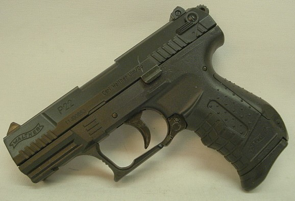 Soft-Air Walther P22-Federdruc - 6mm, <0,5 Joule