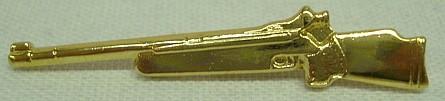 Abzeichen Gewehr gold -