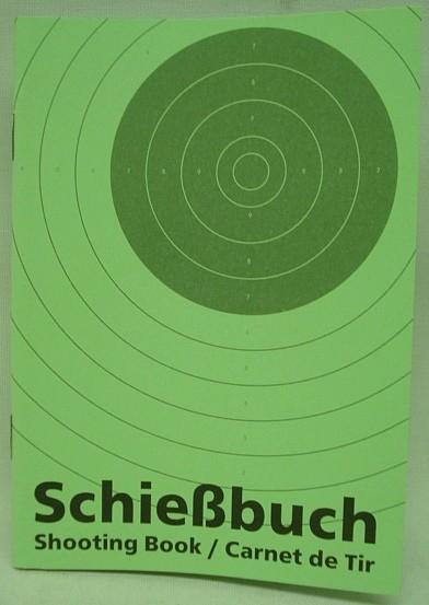 Schießbuch A6 32 Seiten -