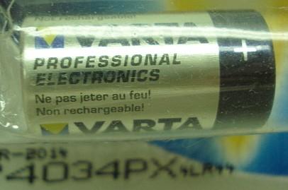 Batterie 4LR44/L1325 - 6V