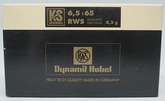 6,5x65RWS KS - 8,2g/127gr (a20)