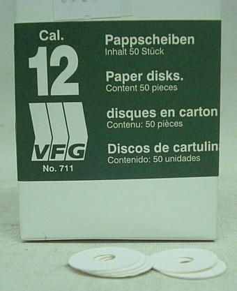 VFG Pappscheiben .12 -