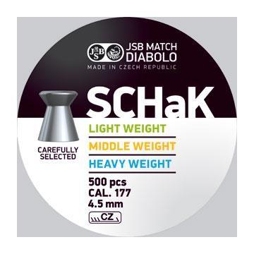 JSB SCHaK 4,50mm - 0,475g (a500)