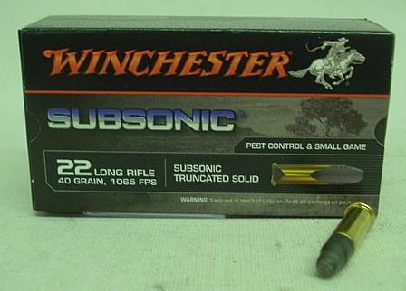 RF .22l.r. LRN Subsonic - (a50) #CW22SUBT#