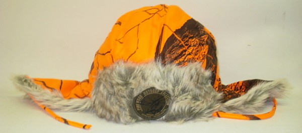 Murmansk mit Ohrenschutz-M orange