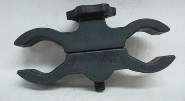 Klemmmontage für Taschenlampen - für max. 40 mm Durchm.