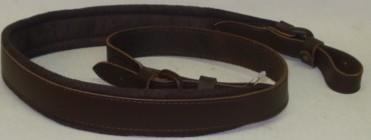 Velourleder mit Gummiunterlage - 32 mm breit, Oberfläche glatt