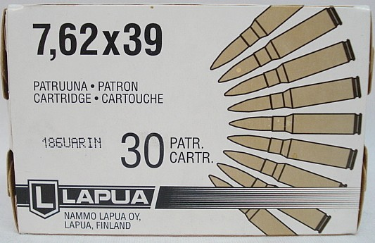 SP 7,62x39 VM - 8,0g/123gr (a30)