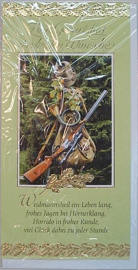 Geb.Karte Jagd Waidmannsheil -