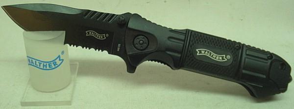 Messer BlackTacKnife - klappbar, 8,5 cm Klinge