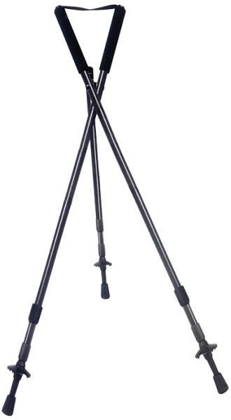 Zielstock Dreibein - Länge:60 -180 cm, Gewicht 800g