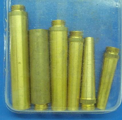 Pulverabfüllstutzen 6-er Set - für Fulverflaschen
