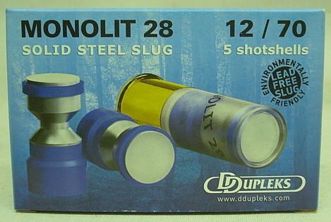Ddubleks Monolit28 Kal.12/70 - 5-er