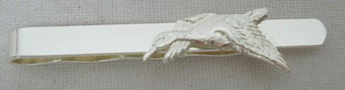 Krawattenschieber Ente - 60mm,versilbert