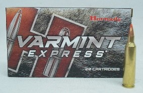 Hornady Büchsenpatronen Varmint Express Kal..22-250Rem. V-Max #8337