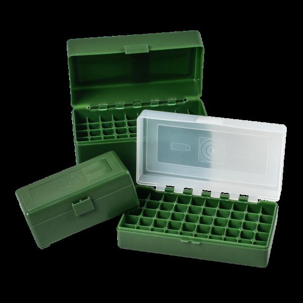 Patronenbox 9mm - 50 Patronen